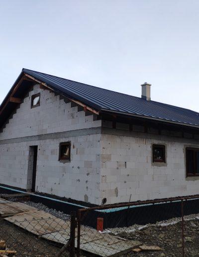 Výstavba RD, hrubá stavba